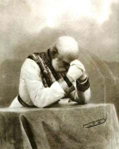 Franz Josef in Prayer