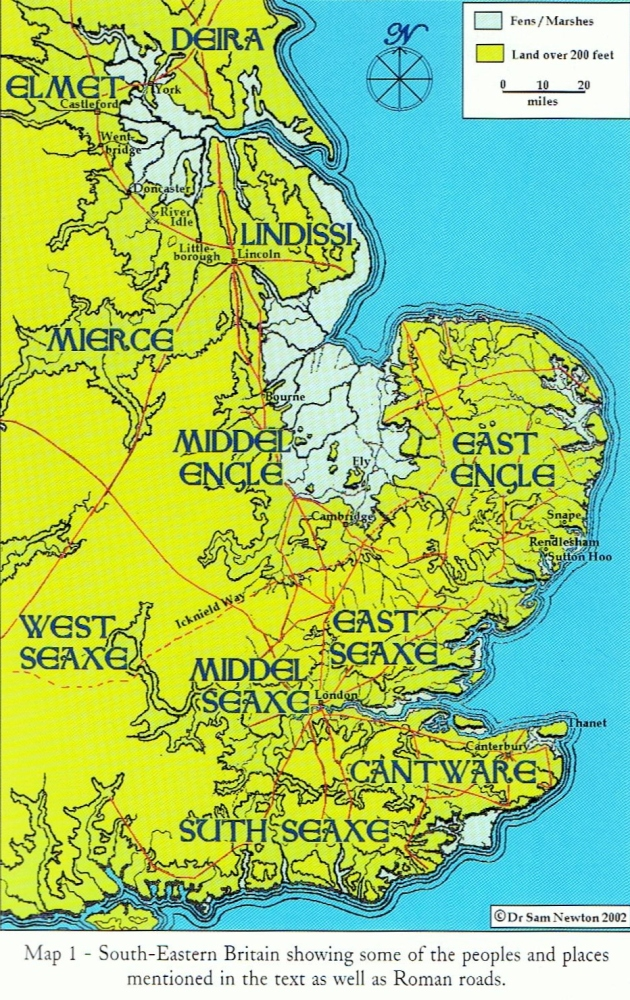 Who are the English, anyway? Who were the Anglo-Saxons? Part One (6/6)