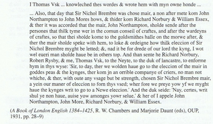The Dialects Of Middle English Part Two From Mercian To West And