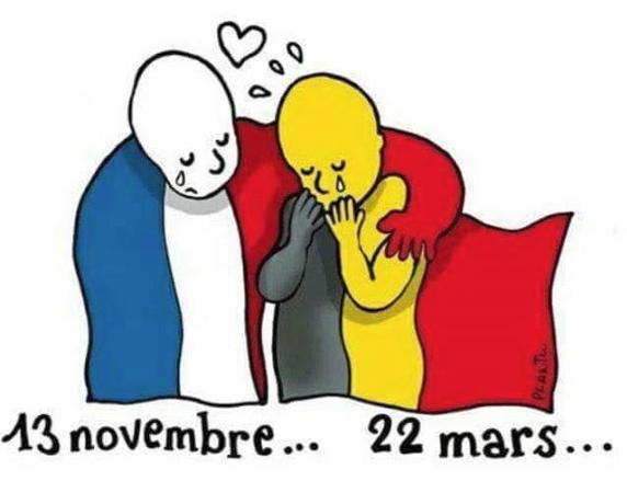 Paris-Brussels terrorist attacks 2015-2016