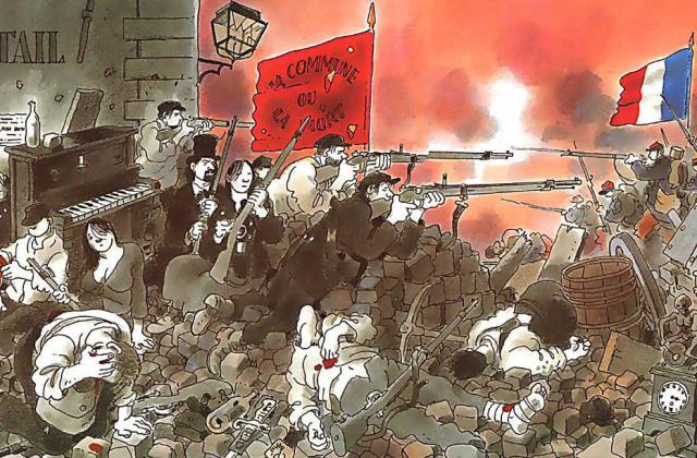 """The Commune as Seen by Jacques Tardi (""""Le cri du peuple""""), 2002."""