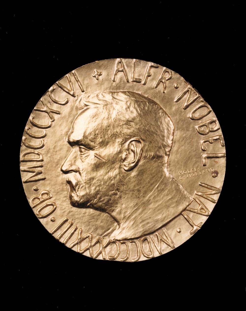 LSF (1947) Nobel Peace Prize obv